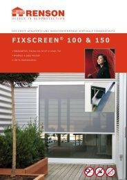 fixscreen® 100 & 150