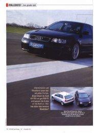 Audi A3 TDI 1.9 96(130)->147(200) Auto Bild Test&Tuning, Heft 11