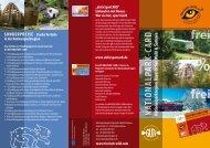 KOSTENLOS in der Nationalparkregion - Nationalpark Bayerischer ...