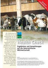 Health Check - Braunvieh Austria