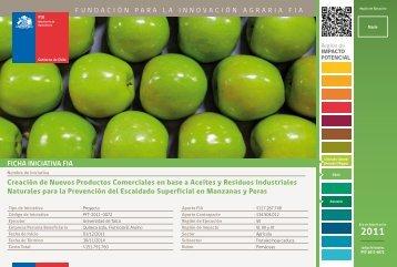 Creación de Nuevos Productos Comerciales en base a Aceites ... - Fia