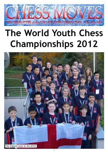 The World Youth Chess Championships 2012 - The English Chess ...