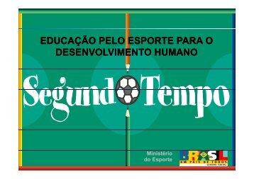 educação pelo esporte para o desenvolvimento humano