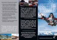 Assisting your tourism business to succeed - Tourism New Zealand