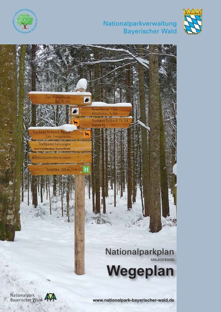 wegeplan 15_Sestava 1 - Nationalpark Bayerischer Wald