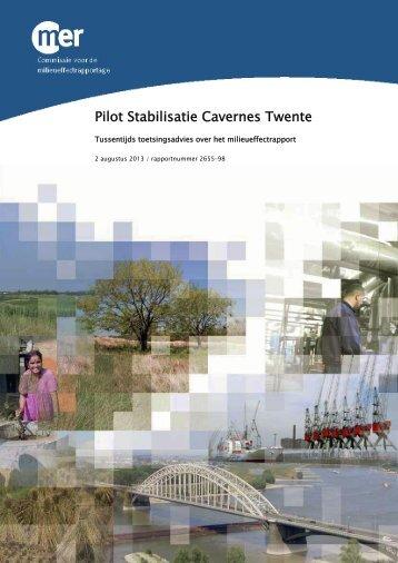 Tussentijdse toetsing - Commissie voor de milieueffectrapportage