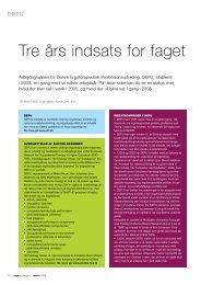 [pdf] Tre års indsats for faget - Ergoterapeutforeningen