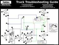 Truck Troubleshooting Guide HALDEX MIDLAND CORPORATION ...