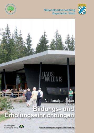 Bildungs- und Erholungseinrichtungen - Nationalpark Bayerischer ...