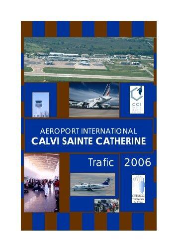 CALVI STATS 2006 V compléte - Aéroport Calvi-Sainte-Catherine