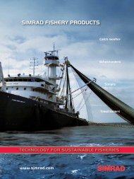 SIMRAD FISHERY PRODUCTS