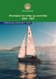 Hovedplan for avløp og vannmiljø 2005 - 2015 - Bergen kommune