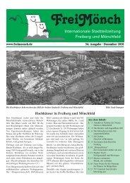 Ausgabe 34 - Bürgerverein Freiberg und Mönchfeld eV