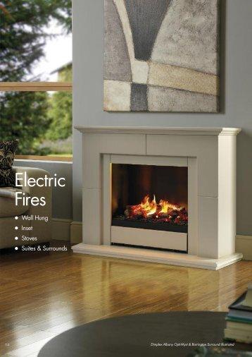 Electric Fires - City Plumbing Supplies
