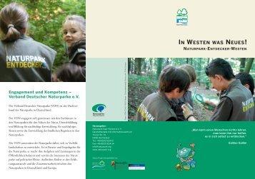 IN WESTEN WAS NEUES! - Naturpark Saar-Hunsrück