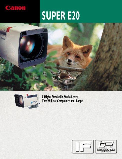 SUPER E20 - Canon