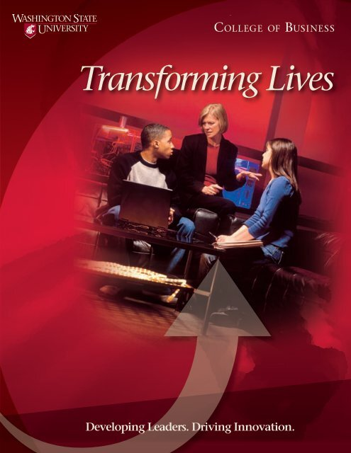 Transforming Lives - College of Business - Washington State ...