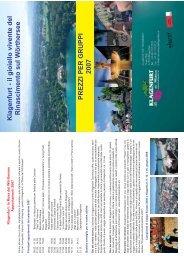 Klagenfurt - il gioiello vivente del Rinascimento sul Wörthersee ...