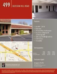 499 BLOSSOM HILL ROAD - Prime Commercial, Inc