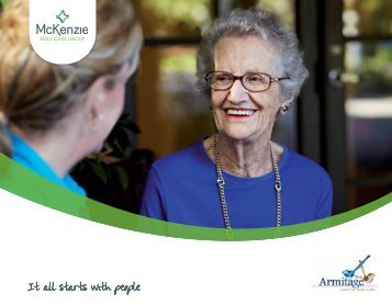Download The Armitage Brochure - McKenzie Aged Care