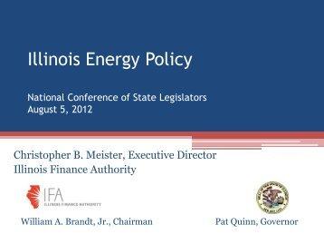 Presentation - National Conference of State Legislatures