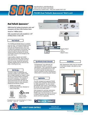 SDC Security Door Controls