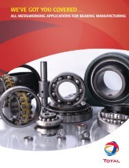 bearing - TOTAL lubricants