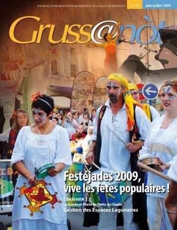 Lo Grussanòt Juin-Juillet (...) PDF - Gruissan