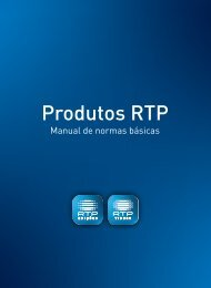Edições RTP manual normas