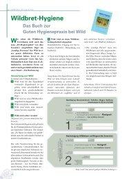 Wildbret-Hygiene