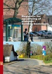 Regulativ for opsætning af plakater i Kolding Kommune