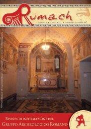 Settembre – Dicembre 2012 - Gruppo Archeologico Romano