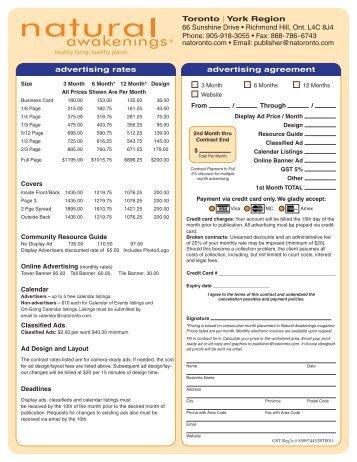 Advertising Agreement Gallery  Agreement Letter Format