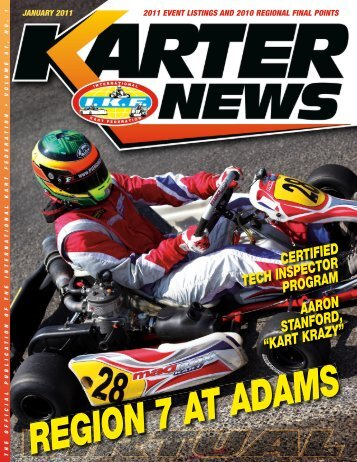 January 2011 - International Kart Federation