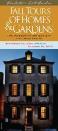 FNL PRES TOURS BRO 10.indd - Preservation Society of Charleston
