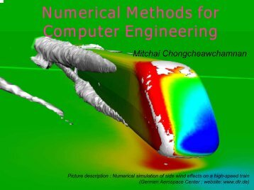 Numerical Methods for Computer Engineering