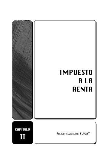 IMPUESTO A LA RENTA - Revista Asesor Empresarial
