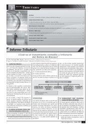 Informe Tributario - Revista Asesor Empresarial