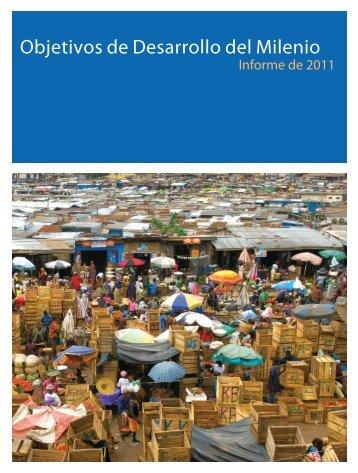 Informe sobre Objetivos de Desarrollo del Milenio 2011 - CINU
