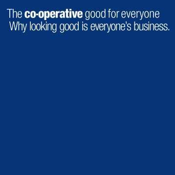 Visual Identity Standards Booklet PDF - The Co-operative