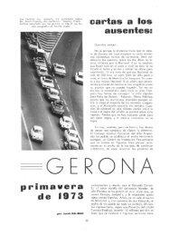 cartas a los primavera de 1973 - Revista de Girona