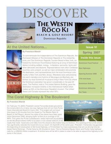 Westin Roco Ki Spring  2007 Newsletter - Starwood Hotels & Resorts
