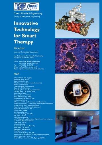 2009 - Lehrstuhl für Medizintechnik - RWTH Aachen University
