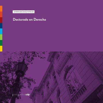 Doctorado en Derecho - Universidad Diego Portales