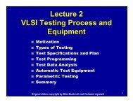 Types of Testing - CS Course Webpages