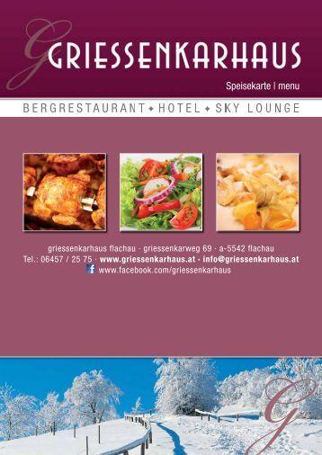 Speisekarte   menu