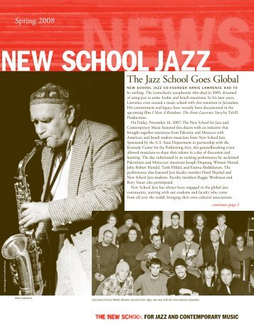 What's New - The New School