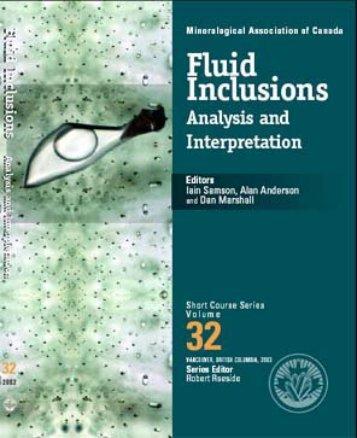 Reequilibrationof fluid inclusions - Geochemistry - Virginia Tech