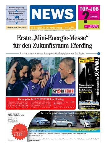"""Erste """"Mini-Energie-Messe"""" für den ... - NEWS-ONLINE.at"""
