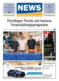 16.9.2011 Redaktions- schluss: 20.9.2011 Für ... - NEWS-ONLINE.at